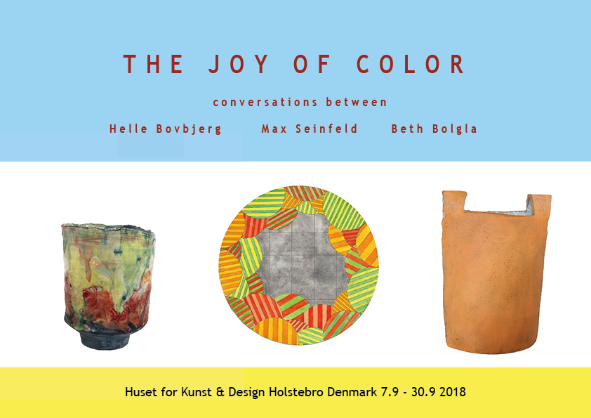 The Joy of Color; a conversation between Beth Bolgla, Max Seinfeld and Helle Bovbjerg