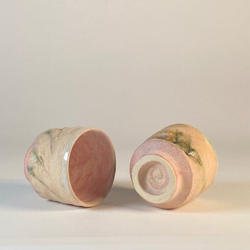 set of two sake cups