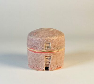 rosa lidded jar